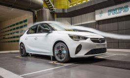 La nuova Opel Corsa al vertice per caratteristiche aerodinamiche