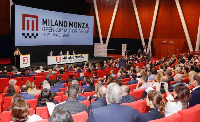 Presentato il nuovo Motor Show italiano: dal 18 al 21 gugno 2020 sarà Milano Monza Open-Air Motor Show