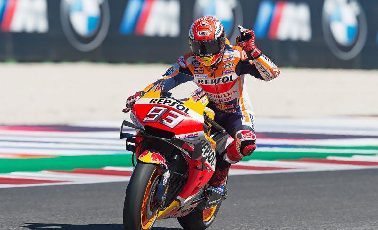 MotoGP – Marc Marquez conquista Misano. Valentino Rossi quarto