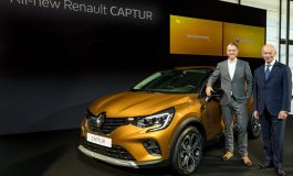 Nuovo Renault Captur presentato al Salone di Francoforte