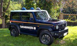 L'Arma dei Carabinieri sceglie Suzuki JIMNY