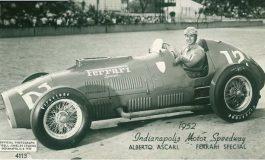 La Ferrari 375 alla 500 miglia di Indianapolis del 1952