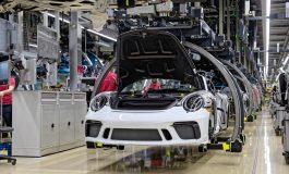 Esce dalle linee di produzione l'ultima Porsche 911 della generazione 991