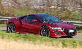 Prova Honda NSX - 3 motori elettrici, un V6 da 3,5 litri per quasi 600 CV