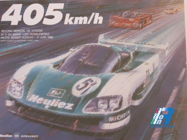 405 Km/h, la velocità massima più alta mai raggiunta in circuito ed è firmata Peugeot