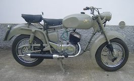 Anni '50, la moda delle moto a ruote basse