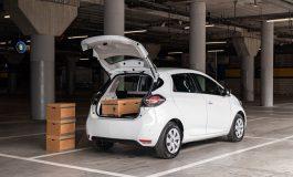 Nuova Renault Zoe Van: spazio di carico e 395km di autonomia
