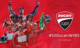 16 agosto 2020, 50 vittorie Ducati in MotoGP: da Capirossi a Dovizioso, passando per Stoner