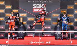 WorldSBK - Scott Redding rompe il ghiaccio. Doppietta Ducati a Jerez