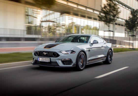 Irrompe Ford Mustang Mach 1: pronta a scatenarsi sui circuiti europei