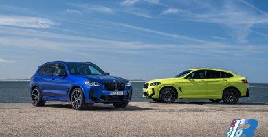 Nuova BMW X3 M Competition e Nuova BMW X4 M Competition