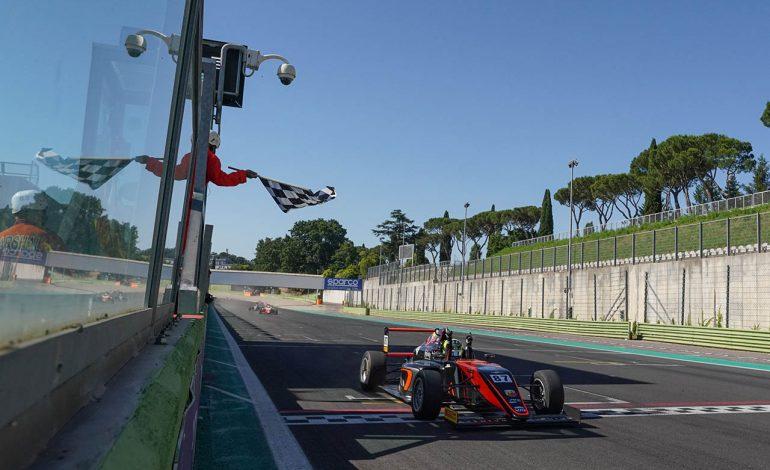 Italian F.4 Championship – A Vallelunga Oliver Bearman firma una tripletta