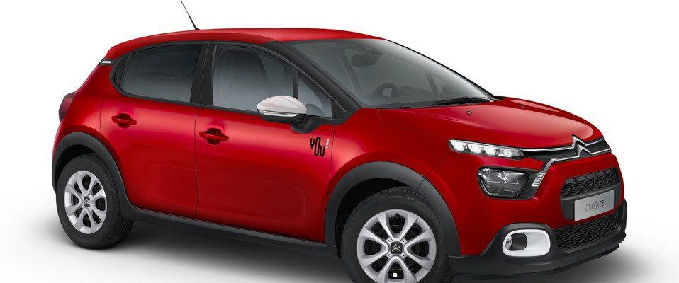 Nuova serie speciale Citroën C3 You! La berlina versatile dalla personalità unica